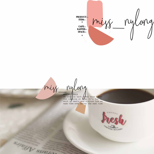 【ミスナイロン】Coffee Studio コーヒーカップ + ソーサーセット