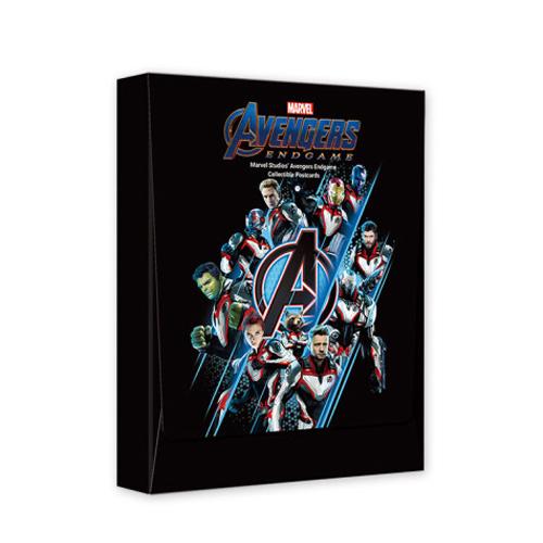 マーベル avengers アベンジャーズ エンドゲーム ホログラムポストカード