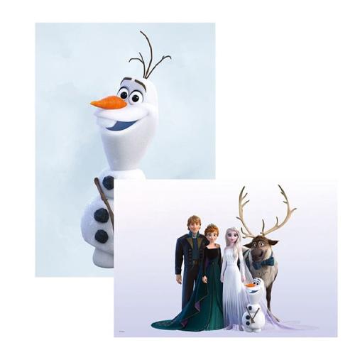 アナと雪の女王2 ディズニーグッズ 輸入代行 ポスターコレクション DISNEY