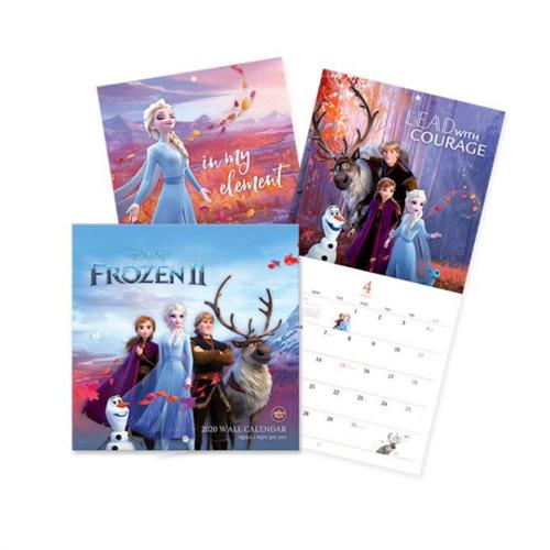 アナと雪の女王2 カレンダー 2020