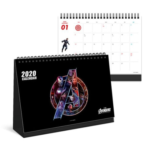 アベンジャーズ 卓上カレンダー 2020