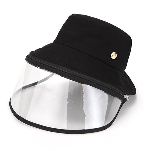 コロナウイルス 原因ウイルス対策 保護フェイスマスク クリップ付き 帽子 コロナ帽子 フェイスガード