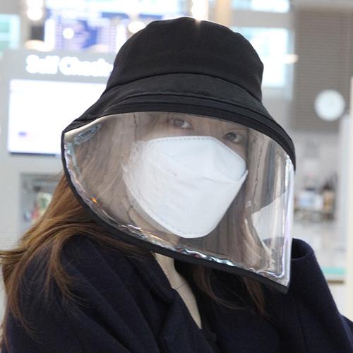 帽子 コロナウイルス影響 コロナ 初期症状 汚染対策 花粉症対策 ハット ウイルス対策 保護フェイスマスク クリップ付き 帽子 コロナ帽子