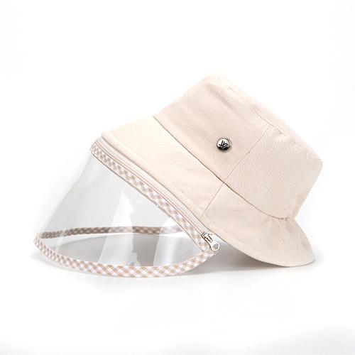 コロナ 感染者数 日よけ防止 汚染対策 花粉症対策 ハット ウイルス対策 保護フェイスマスク クリップ付き 帽子 コロナ帽子