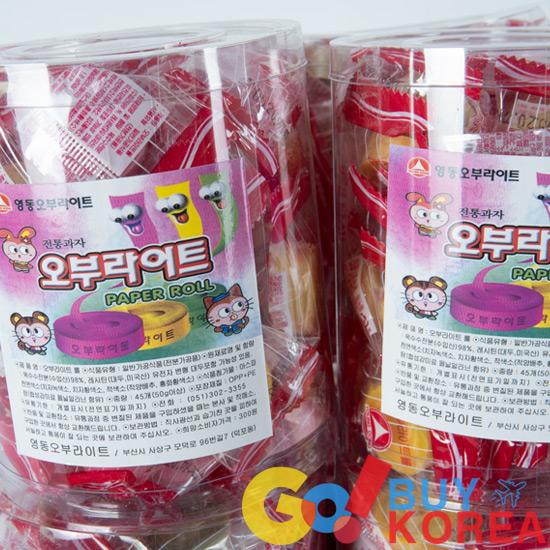 オブライトロール 海外お菓子 韓国お菓子