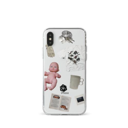 「収集美学 sujipmihak」dottie object 04 phonecase / ソフトケース シリコンケース