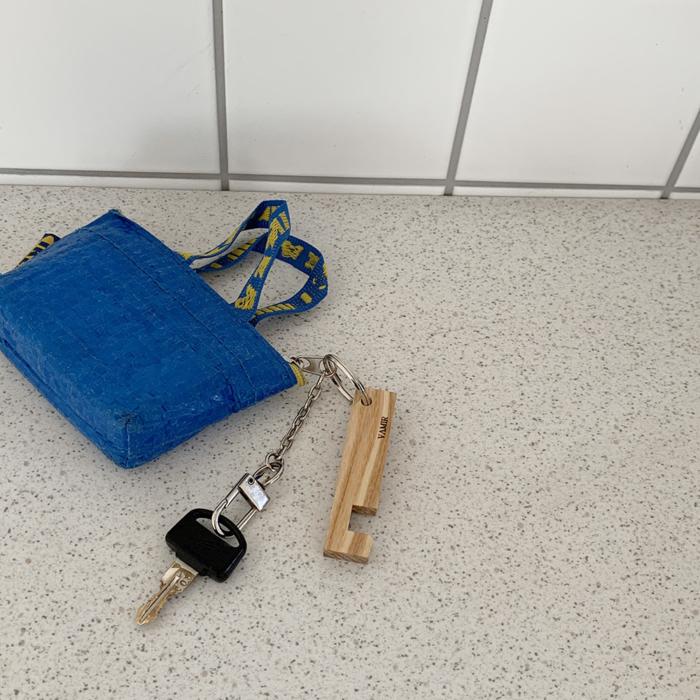 VAMIR Ashキーリング iphone対応 スマホスタンド