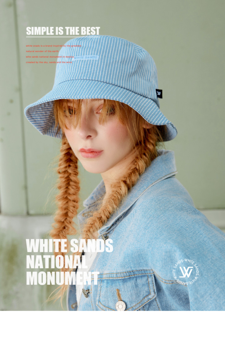 whitesands 韓国人気 バケットハット