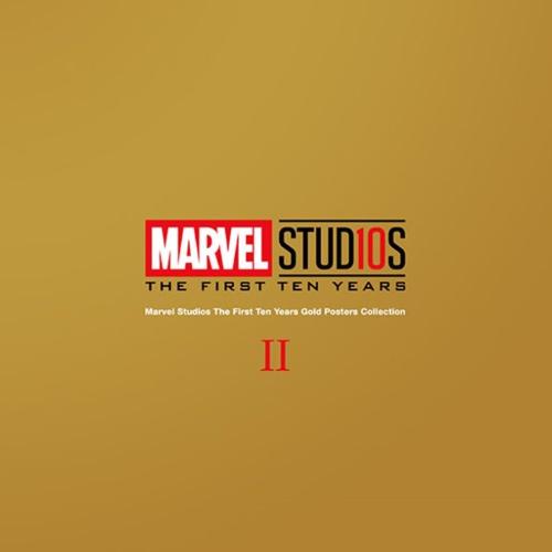 MARVEL 2 MAVEL POSTER10周年ゴールド ポスター