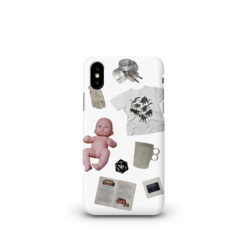 「収集美学 sujipmihak」 dottie object 04 phonecase / ハードケース マットコート