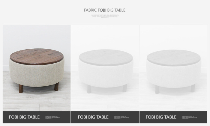 ヨン家具 韓国家具 お洒落インテリア ラウンド収納ソファーテーブル