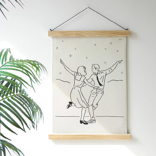 abundance メモリアルファブリックポスター#ララランド LALALAND 韓国 人気家具インテリア
