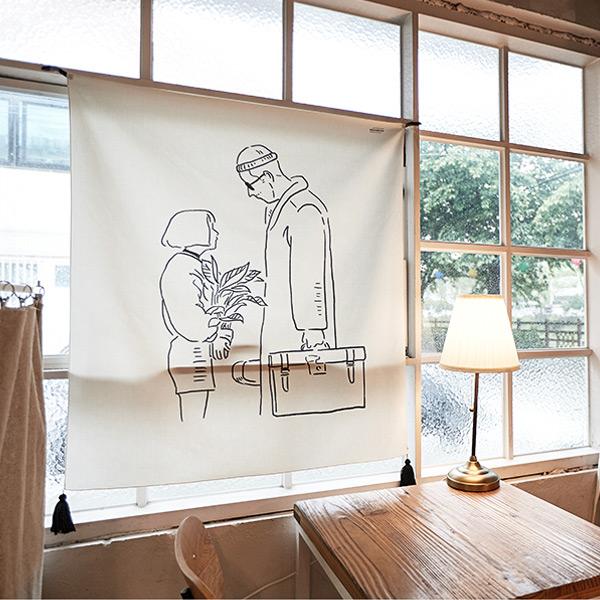 abundance メモリアルファブリックポスター#LEON LALALAND 韓国 人気家具インテリア