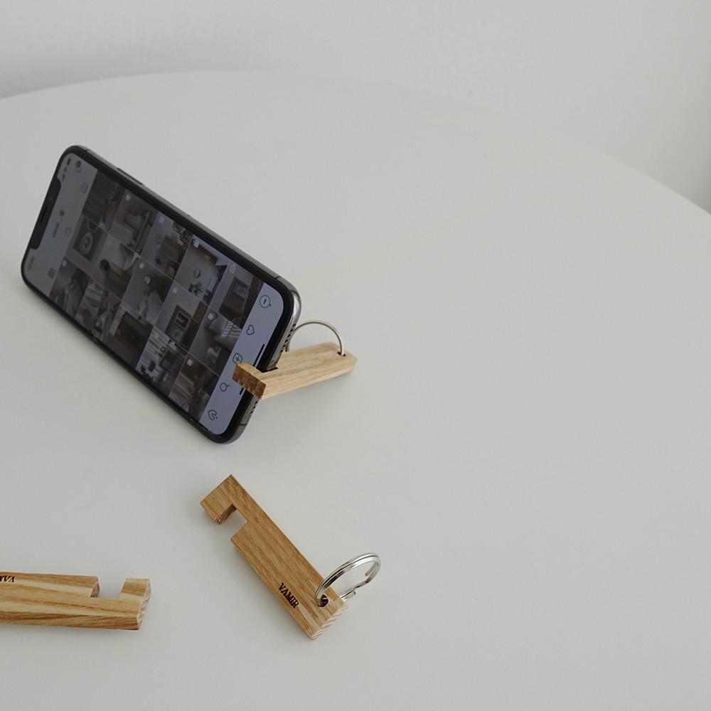 VAMIR Ashキーリング スマホスタンド バミル 携帯電話スタンド
